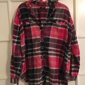 Red and Black Urban Outfitters Flannel